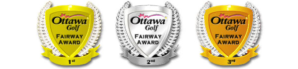 OttawaGolf Fairway Awards 3 wide